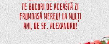 La multi ani, Alexandru!